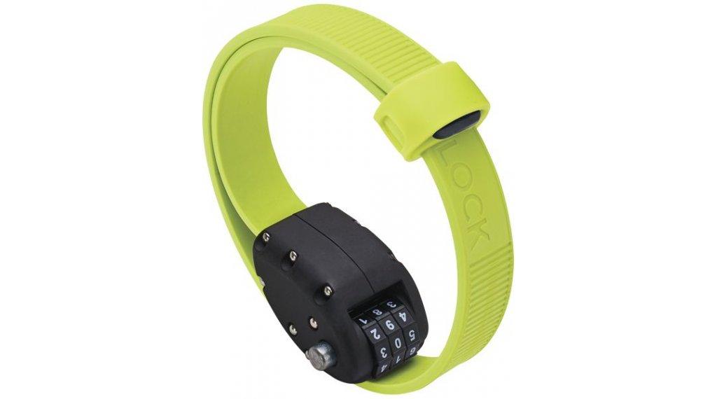OTTO DesignWorks Ottolock Cinch Lock Kabelschloss Zahlenschloss 46cm-lang flash green