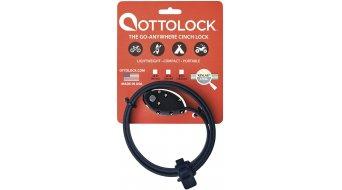 OTTO DesignWorks Ottolock Cinch Lock Kabelschloss Zahlenschloss 76cm-lang stealth black