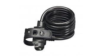 Trelock SK222 Siralkabelschloss FixxGo 180cm schwarz