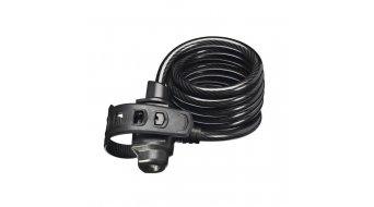 Trelock SK322 Spiralkabelschloss FixxGo3 180cm schwarz