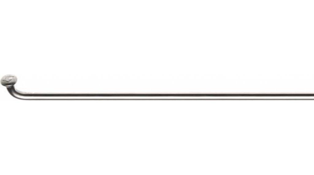 DT Champion Speichen glatt 224mm 2.0mm silber