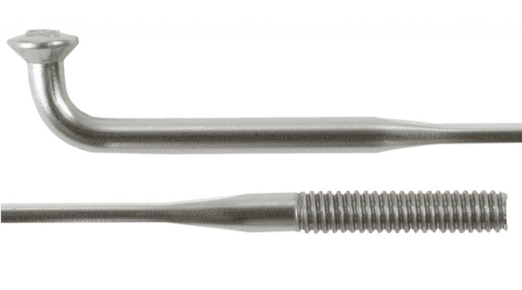 DT Aero Speed Speichen 286mm 1.8-1.2mm silber