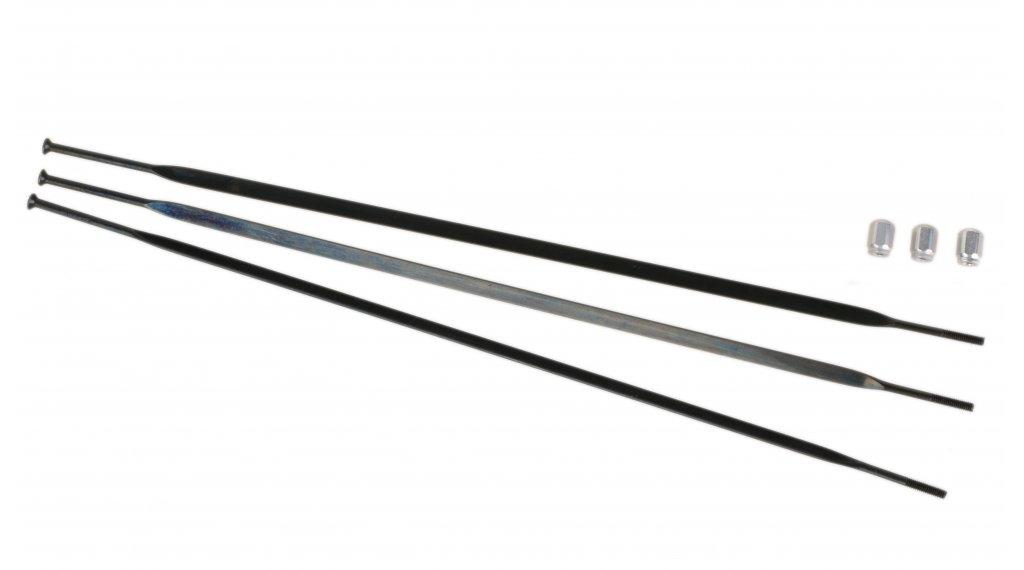 SRAM S80 Speichen Kit mit 3 Stk. (inkl. Nippel) für hinten Antriebsseite 220mm schwarz