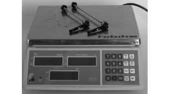 AX Lightness ax.Quicky evo MTB / Rennrad Schnellspanner Set 100/135mm