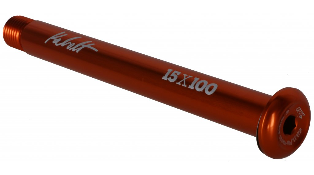 Fox Kabolt Boost Steckachse 15x110mm orange ano