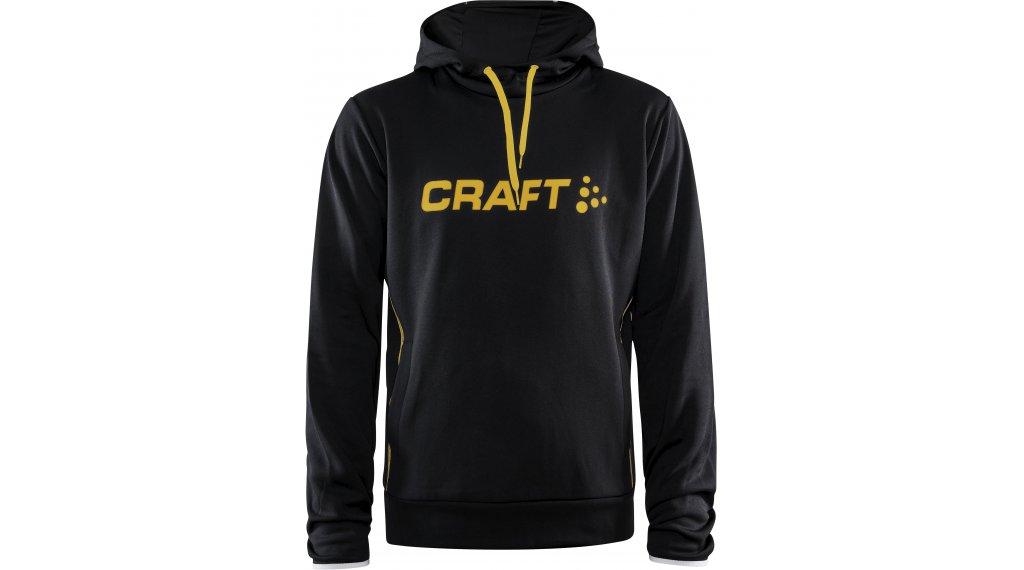 Craft Logo Hood felpa con cappuccio da uomo mis. S nero