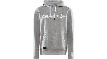 Craft Core Kapuzenpullover Herren Gr. L grey melange