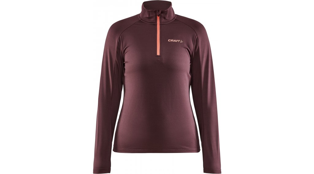 Craft Core Gain Midlayer Pullover Damen Gr. XS peak