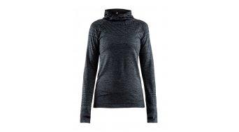 Craft Core 2.0 Hood Kapuzen shirt dames maat. M black melange- Sample