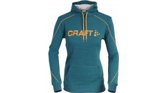 Craft Logo Hood Kapuzenpullover Damen Gr. XS teal/logo sprint