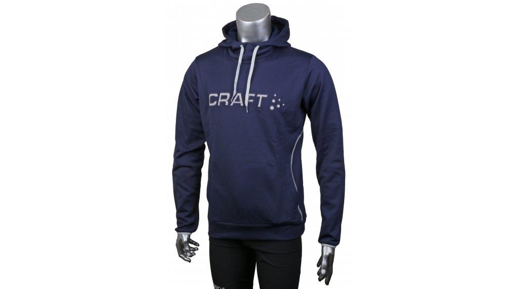 Craft Logo Hood 连帽套头衫 男士 型号 M maritime/grey