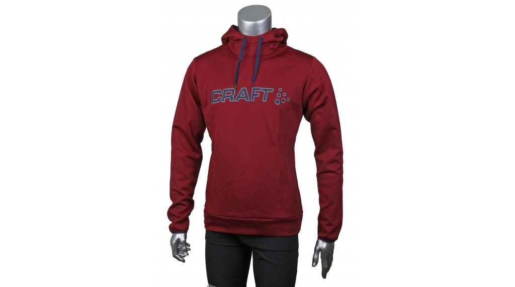 Craft Logo Hood felpa con cappuccio da uomo mis. S rio/maritime