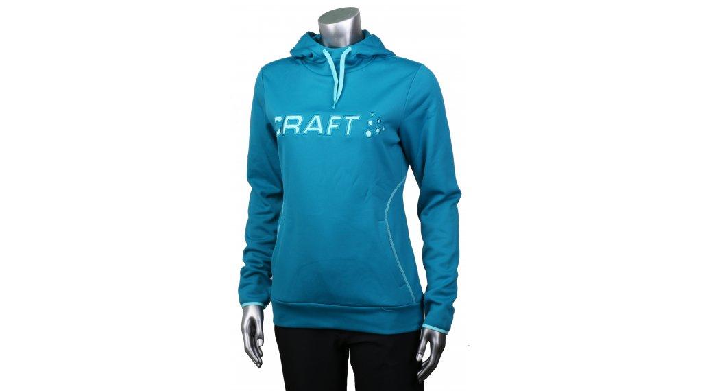 Craft Logo Hood 连帽套头衫 女士 型号 L zen/sea