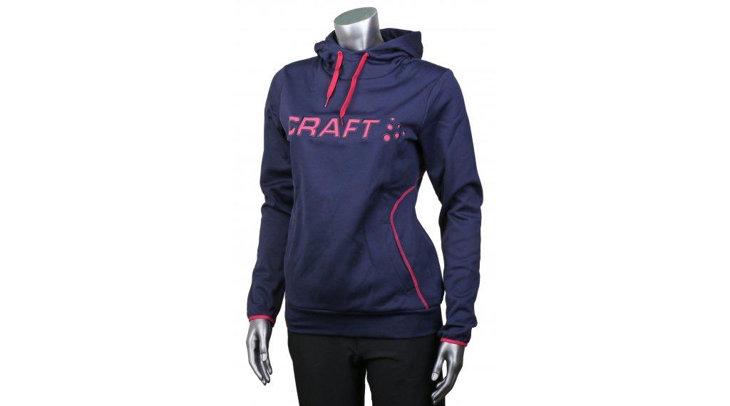Craft Logo Hood 连帽套头衫 女士 型号 XL maritime/fantasy