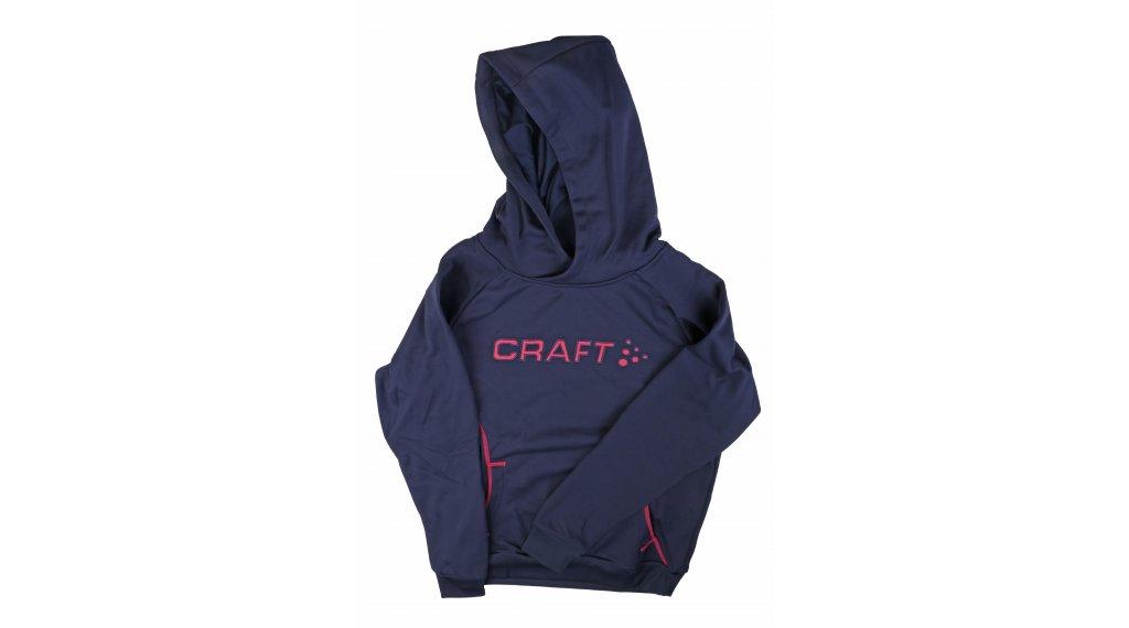 Craft Logo Hood JR 连帽套头衫 儿童 型号 122/128 maritime/fantasy