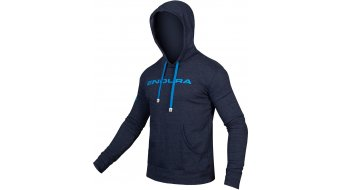 Endura One Clan Hoodie Kapuzen shirt men size L navy