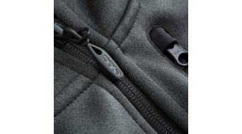EVOC Logo 连帽外套 男士 carbon grey 型号 L