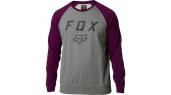 Fox Legacy Crew Fleece Pullover Herren Gr. S dark purple