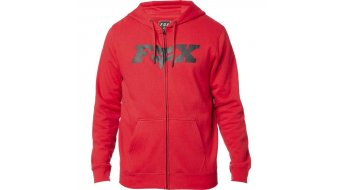 Fox Legacy FheadX Zip Fleece Kapuzenjacke Herren Gr. S dark red