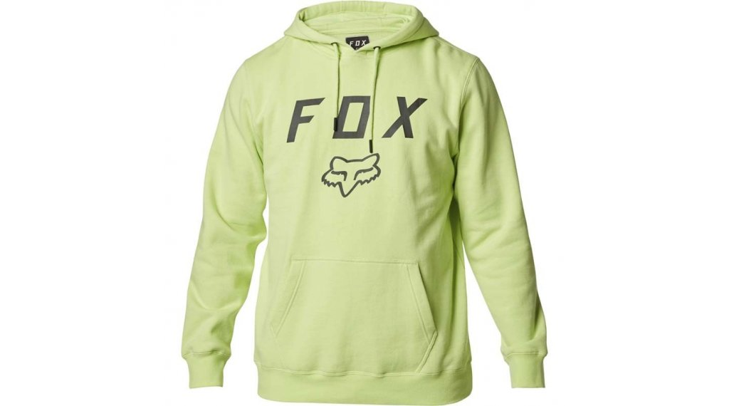 FOX Legacy Moth Fleece sweat à capuche hommes taille S lime