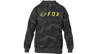 Fox Apex Zip Fleece Kapuzenjacke Herren Gr. S black camo
