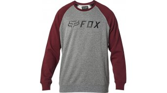 Fox Apex Fleece Pullover Herren Gr. M grey/red