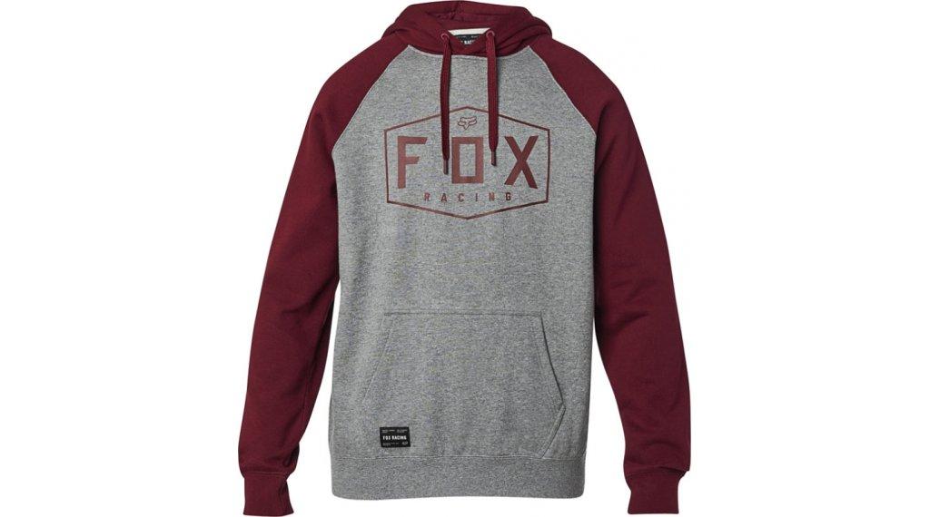 Fox Crest Fleece Kapuzenpullover Herren Gr. S heather graphite