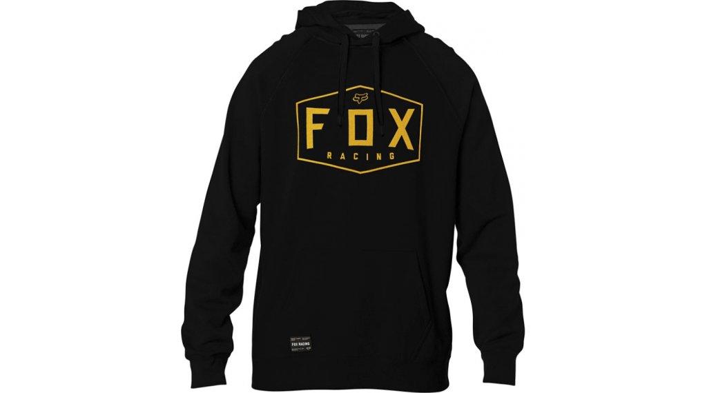Fox Crest Fleece Kapuzenpullover Herren Gr. S black