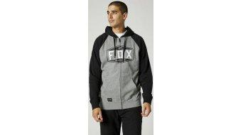 FOX Emblem Raglan Zip Fleece kapucnis kabát férfi
