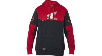 Fox Honda Fleece Kapuzenpullover Herren black/red