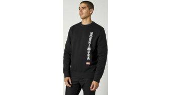 FOX Yoshimura Crew Fleece Kapuzen shirt heren maat.#*en*#L#*en*#zwart