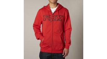 FOX Legacy Fheadx felpa zip da uomo con cappuccio Zip Hoodie . flame red