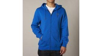 Fox Legacy chaqueta sudadera con capucha Caballeros-chaqueta sudadera con capucha Zip Hoodie tamaño S azul