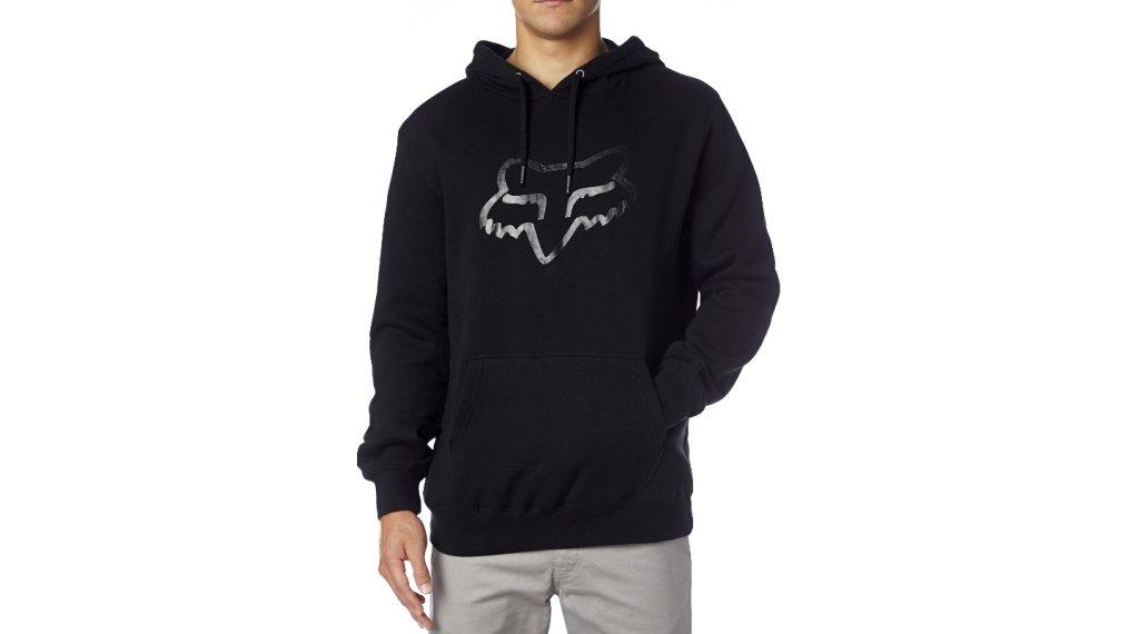 FOX Legacy Foxhead pile felpa con cappuccio da uomo mis. S black/black