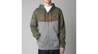 FOX Record veste à capuche hommes-veste à capuche Zip Hoodie taille XL Army