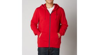 FOX Tracker veste à capuche hommes-veste à capuche Zip Hoodie taille S red
