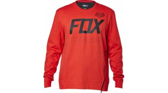 Fox Brawled Pullover Herren-Pullover Tech Crew Neck flame red