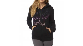 FOX Eyecon Kapuzen shirt ladies-Kapuzen shirt Zip Hoodie black