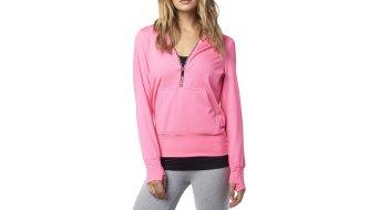 Fox Zeal jersey de capucha Señoras-jersey de capucha Hoodie color neón pink