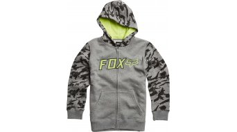 Fox Galatia chaqueta sudadera con capucha niños-chaqueta sudadera con capucha Youth Zip Hoodie heather grey