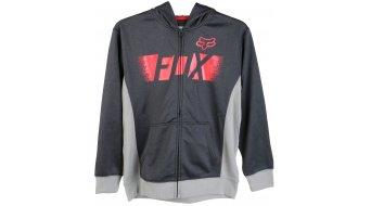Fox Halstead chaqueta sudadera con capucha niños-chaqueta sudadera con capucha Youth Zip Hoodie tamaño 152/164 (YXL) negro