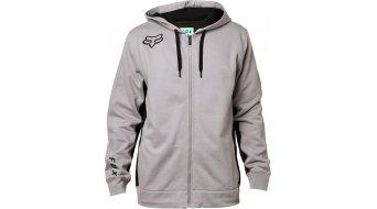 Fox 360 Zip Hoodie Herren steel grey
