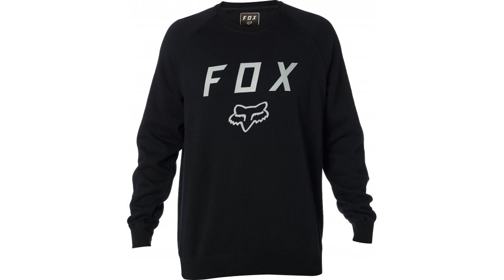 Fox Legacy Crew Fleece Pullover 男士 型号 S black