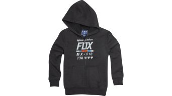 Fox Draftr Sherpa Youth Kinder Zip Hoodie black