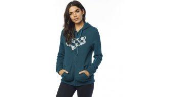 Fox Check Head Zip Fleece Sweatshirt Damen