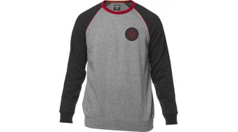 FOX Chu Crew Fleece Sweatshirt hommes taille heather graphite