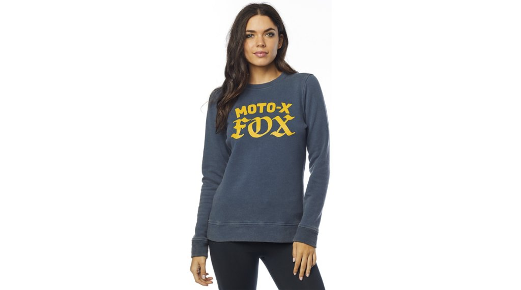 Fox Moto X Crew Fleece Sweatshirt Damen Gr. XL navy
