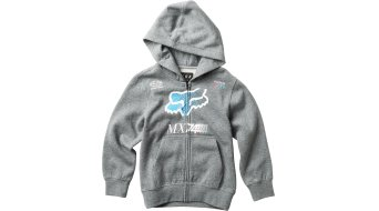 Fox Youth Backdrafter Zip Sweatshirt niños tamaño YM heather graphite
