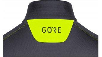 GORE M Thermo Zip Langarmshirt 男士 型号 L black/neon yellow