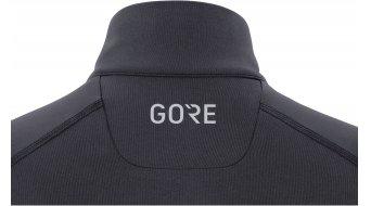 GORE Wear M Mid Zip Shirt langarm Damen Gr. XS (34) black/neon yellow
